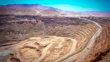 Chuquicama copper mine in Chile is operated by Codelco, the world's largest copper producer